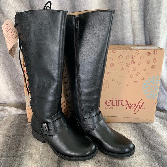 Sofft Eurosoft Selden Laceup Tall Boots